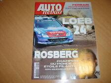 Auto hebdo N°1544 Ferrari 599 GTB.WRC Argentine.
