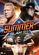 WWE: Summerslam 2015 (DVD, 2015, 2-Disc Set) Brand New