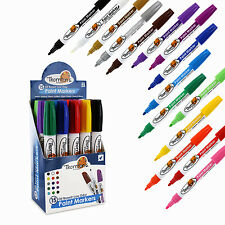Thornton's Art Supply Oil-Based Paint Markers Medium, Assorted Colors, Set of 15