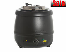 Economic Budget 10 Litre Soup Kettle Warmer Urn Bain Marie @Next Day Delivery