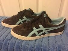 Mens Asics Onitsuka Tiger D103L Suede Trainers Sneakers US 10 UK 9 Brown