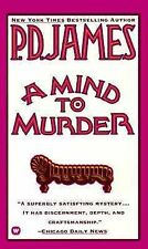 A Mind to Murder (Adam Dalgliesh Mystery Series #2) by P. D. James