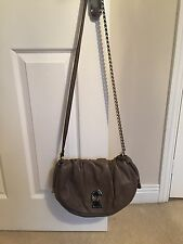 Genuine, Authentic, Fawn Dolce And Gabbana D&G leather Shoulder handbag