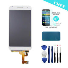 Original LCD Display Touch Screen Digitizer Assembly For Huawei Ascend G7 White