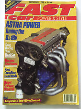 Fast Car Magazine - September 1990 - Project Golf, twin cam mini head, gearboxes