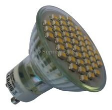 GU10 48 SMD LED 3.5W 210LM Dimmable Warm White Bulb ~50W