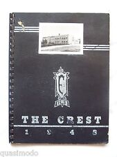 1948 FAIRFIELD TOWNSHIP SCHOOL YEARBOOK COLUMBIANA, OHIO THE CREST UNMARKED!