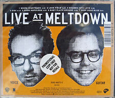 Elvis COSTELLO CD Live At Meltdown 1995 w/ BILL FRISELL 7 Trk PROMO UNPLAYED