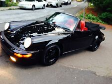 1986 Porsche 911 Carrera Convertible 2-Door