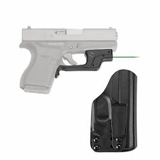 *NEW Crimson Trace Laser Sight For Glock 42 43 Green BLADETECH HOLSTER LG-443G-H