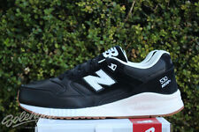 NEW BALANCE 530 SZ 11.5 BLACK OFF WHITE GUM BEIGE M530ATB