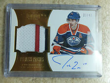 12-13 Panini Dominion Peerless Patches Rookie RC #80 JORDAN EBERLE /40