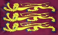 THREE LIONS Richard the Lionheart English Crusader Flag medieval 5x3 5ftx3ft