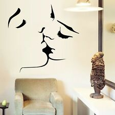1pc Kissing Men and Women Removable Paper Mural Wall Sticker Home Decoration