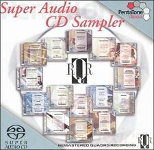 Super Audio CD Sampler [Hybrid SACD], , New Hybrid SACD