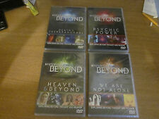 4x DVDS Mysterious Forces Beyond - 2 watched once/2 new & sealed.