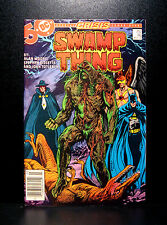 COMICS: DC: Saga of the Swamp Thing #46 (1980s), John Constantine app - RARE