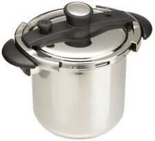 CONCORD 8QT Stainless Steel Pressure Cooker w/UL Safety Dutch Oven Cookware Pots