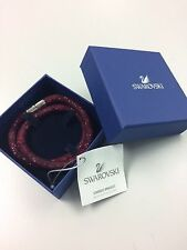 SWAROVSKI Crystal Rubi Stardust Double Plated Authentic Bracelet $80 Size M