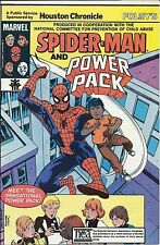 AMAZING SPIDERMAN GIVEAWAY PROMO VARIANT HOUSTON FOLEYS CHILD ABUSE POWER PACK N