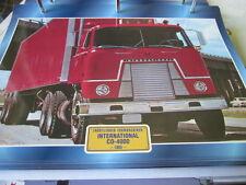 Super Trucks Frontlenker USA International CO 4000, 1965