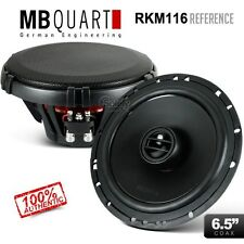 "New Genuine MB Quart REFERENCE Series RKM116 6.5"" 2-Way Car Coaxial Speakers 55W"