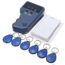 13pcs 125KHz RFID/ID Card Reader Writer Copier Duplicator with 6 Cards/Tags Kit