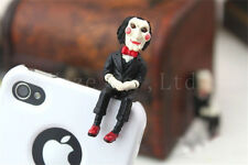 SAW 3D Jigsaw Puppet Doll Anti Dust JACK Cap Plug 3.5mm Plug for Phone NN*