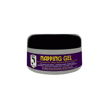 Nappy Styles Napping Gel Conditioning Hair Wavy Curly Kinky Soft Coconut Oil 8oz