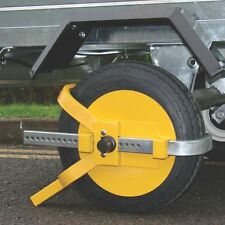 "Maypole High Visibility Wheel Clamp for 8""10"" Trailer & Caravan Wheels Sale"
