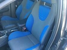 FORD FOCUS PAIR OF TWO FRONT CLOTH TYPE BUCKET SEATS PASSENGER AND DRIVER SIDE