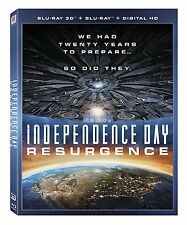 Independence Day: Resurgence 3D 3D (used) Blu-ray ** No Cover Art, No case