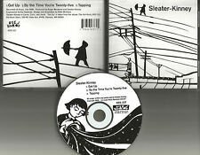 Carrie Brownstein SLEATER KINNEY Get up w/ 2 UNRELEASED TRX 1998 USA CD Single