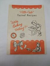 Vintage Little Lady Stove Tested Recipe Instructions - 1950's