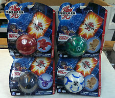 4 different - BAKUGAN LARGE SIZE SEALED BOOSTER - BRAND NEW
