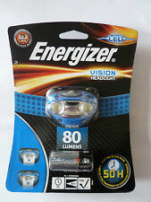 Energizer VISION HEADLIGHT, LED, HANDSFREE,80 LUMENS (7638900270228)