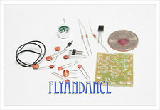 DIY electronic Kit - Mini Regenerative FM radio sound transmitter mic bug spy US