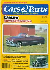 1981 Cars & Parts Magazine: 1950 Ford Convertible/1924 Studebaker Touring