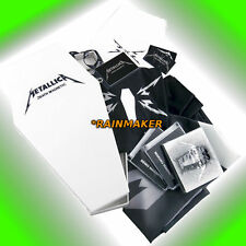 METALLICA Limited Edition Set DEATH IN A COFFIN/BOX MAGNETIC CD+DVD+T-Shirt rare