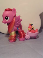 "My little pony G4 "" Feathermay with Parrot "" combi shipping 1-5 ponies 4.50"