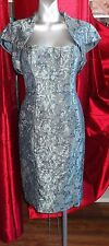 Mother of The Bride Groom John Charles Dress & Bolero Size UK 10