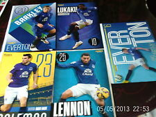 everton 2O15 barkley lukaku mccarthy lennon coleman  all colour A4s