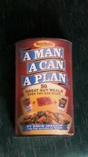 A MAN, A CAN, A PLAN ~ 50 GREAT GUY MEALS ~ HARDCOVER