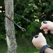 1pcs Pocket Chain Saw Hand  Carbon Steel Outdoor Survival Camping Hiking 95cm.