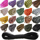 HOT 550 Paracord Parachute Cord Lanyard Mil Spec Type III 7 Strand Core 100 FT L