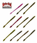 """STRIKE KING KVD FAT BABY FINESSE WORMS 5"""" (12 PACK) select colors"""