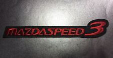 Mazda Speed 3 Car Patch Mazdaspeed3 Axela Performance Series Patch MPS