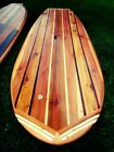 Build an 8' Hollow Wooden Stand-Up Paddleboard 8' SUP Surfboard Plans/Blueprints