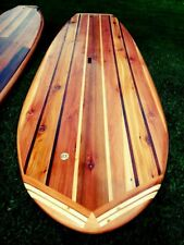 INSTANT DOWNLOAD 8' Hollow Wooden Stand-Up Paddleboard 8' SUP Plans/Blueprints