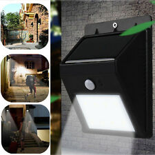Swiftly Done Bright Solar Power Outdoor 4LED Light Peel+Stick Motion Activated